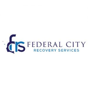 A picture on the Community Partners page displaying Federal City's Recovery logo