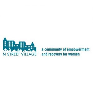 A picture on the Community Partners page displaying N Street Village's logo