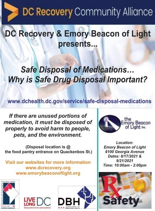 Medication Disposal Day Flyer